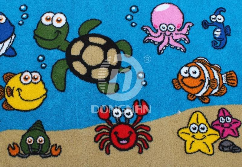 幼儿园海洋卡通草坪