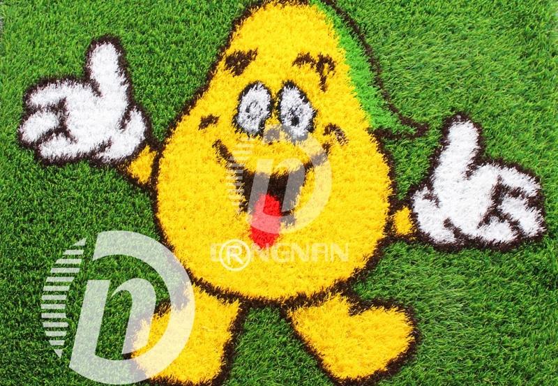 梨卡通人造草皮