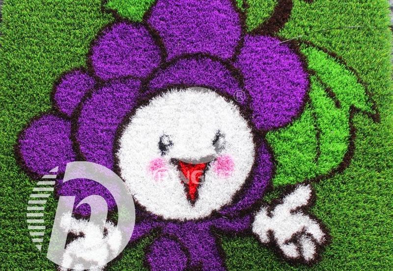 葡萄卡通人造草坪