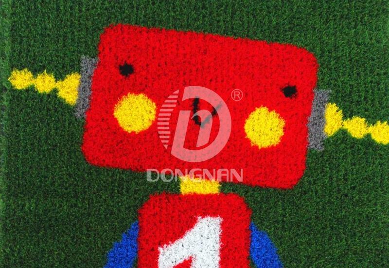 机器人卡通人造草坪